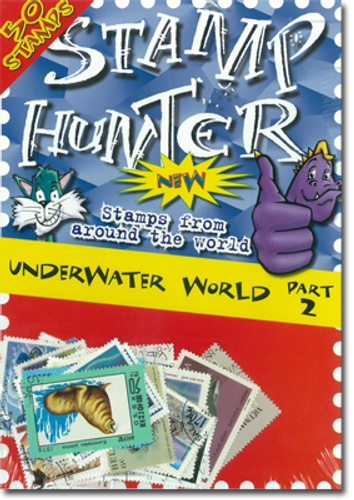 Stamp Hunters Underwater World Themed Pack Part 2