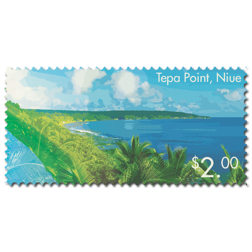 2014 Scenic Definitives - A Tour of Niue $2.00 Stamp