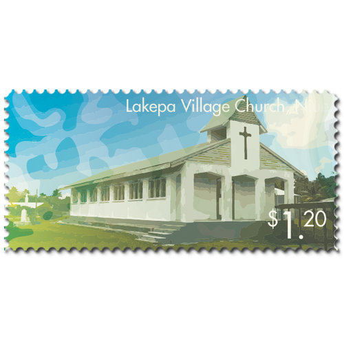 2014 Scenic Definitives - A Tour of Niue $1.20 Stamp