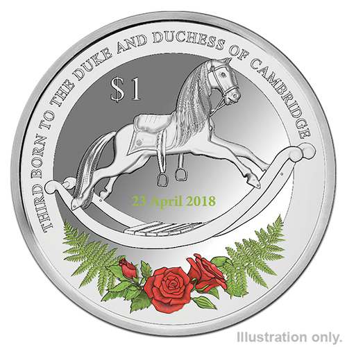 2018 Royal Baby Silver Proof Coin