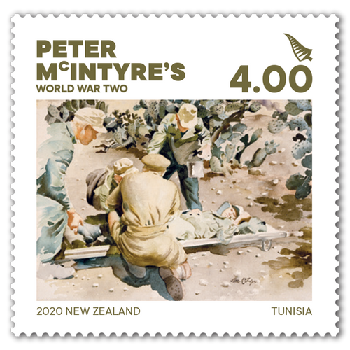 2020 Peter McIntyre's World War Two $4.00 Stamp
