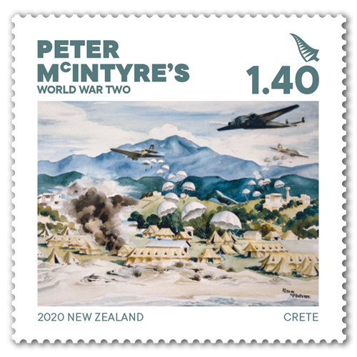 2020 Peter McIntyre's World War Two $1.40 Stamp