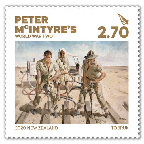 2020 Peter McIntyre's World War Two $2.70 Stamp