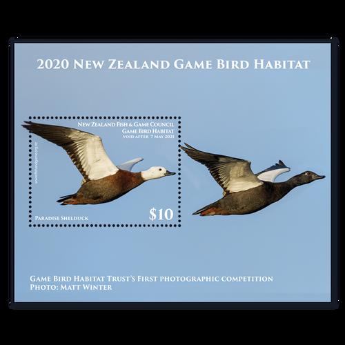 2020 Game Bird Habitat Miniature Sheet