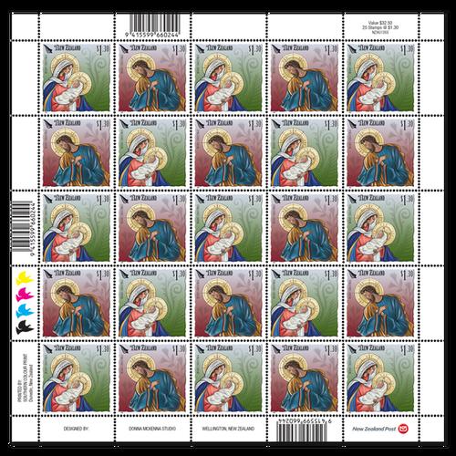 Christmas 2019 $1.30 Stamp Sheet