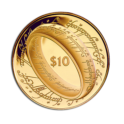 The Lord of the Rings Gold Proof Coin
