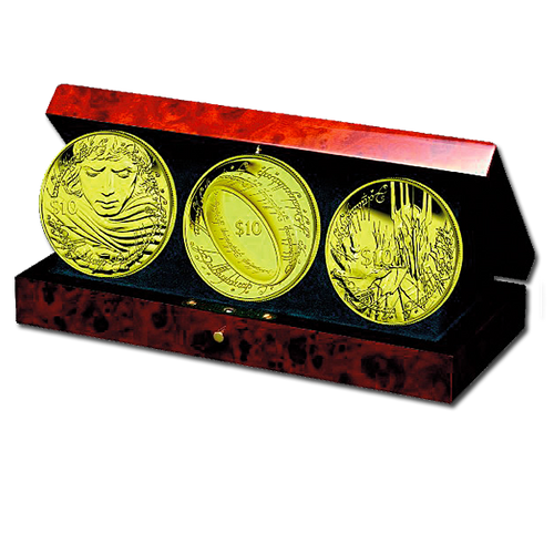 The Lord of the Rings Gold Proof Coin Set