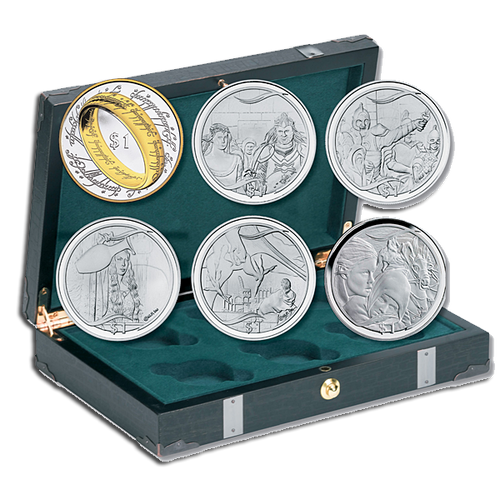 The Lord of the Rings Silver Proof Set