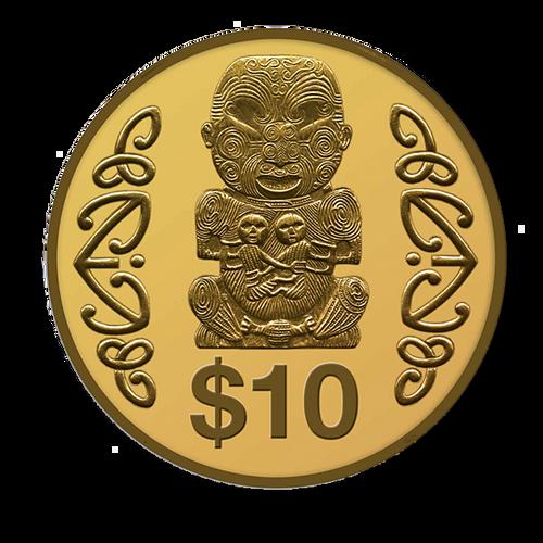 2004 Pukaki Gold Proof Coin