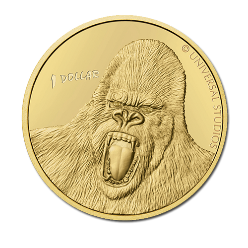 2005 King Kong Brilliant Uncirculated Coin