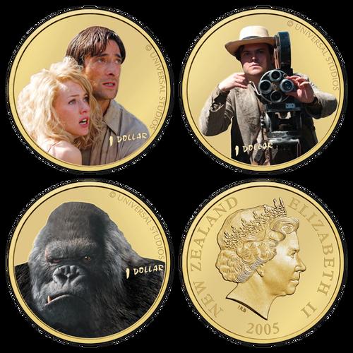 2005 King Kong Brilliant Uncirculated Character Set