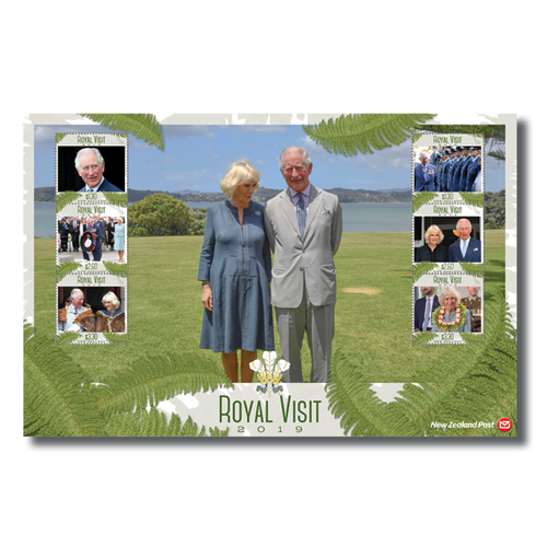 Royal Visit 2019 Set of Cancelled Stamps