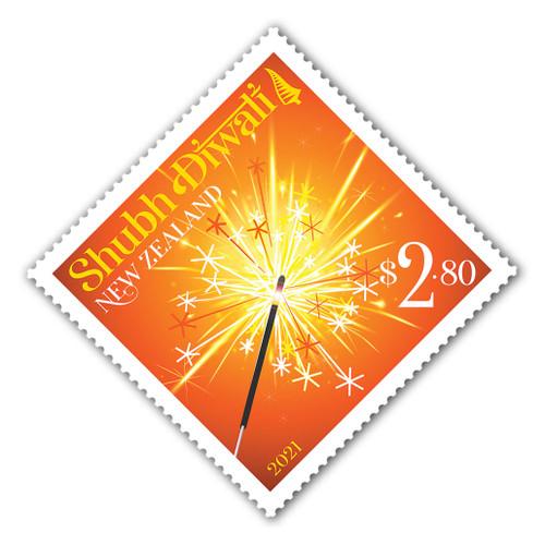 2021 Shubh Diwali $2.80 Stamp