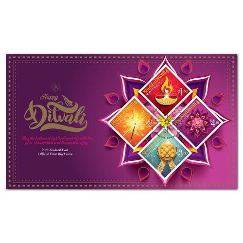 2021 Shubh Diwali First Day Cover