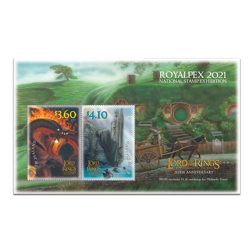 Royalpex 2021 National Stamp Exhibition Mint Miniature Sheet