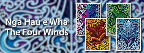 Ngā Hau e Whā - The Four Winds | NZ Post Collectables