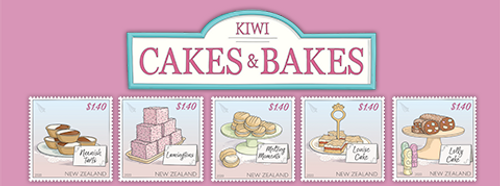Kiwi Cakes & Bakes   NZ Post Collectables