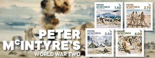Peter McIntrye's World War Two | NZ Post Collectables