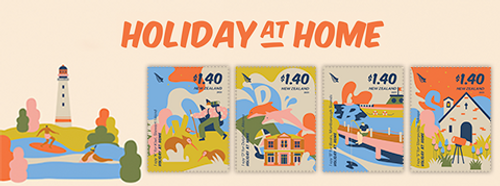 Holiday at Home   NZ Post Collectables