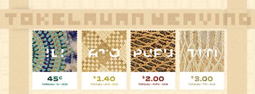 Tokelau Weaving 2020   NZ Post Collectables
