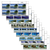 Tokelau Scenic Definitives 2012 Set of Value Blocks