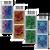 2020 Nga Hau e Wha - The Four Winds Set of Barcode B Blocks