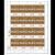 Tokelau Weaving 2020 $2.00 Stamp Sheet