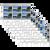 Tokelau Scenic Definitives 2012 Set of Plate Blocks