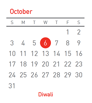 Diwali, 6 October 2021