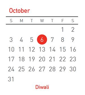 Diwali, 6 October 2021