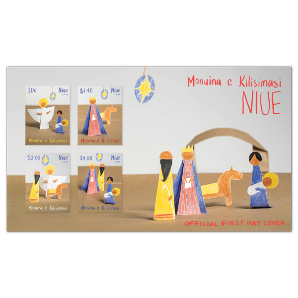 Niue Christmas 2019 first day cover | NZ Post Collectables