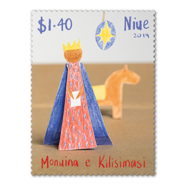 Niue Christmas 2019 single $1.40 gummed stamp | NZ Post Collectables