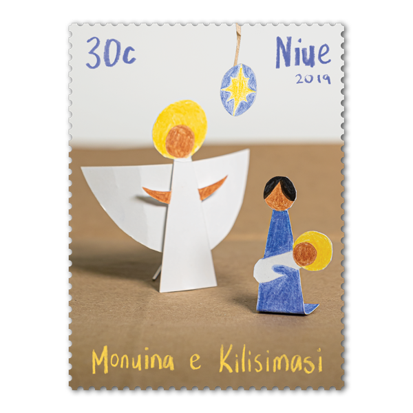 Niue Christmas 2019 single 30c gummed stamp | NZ Post Collectables