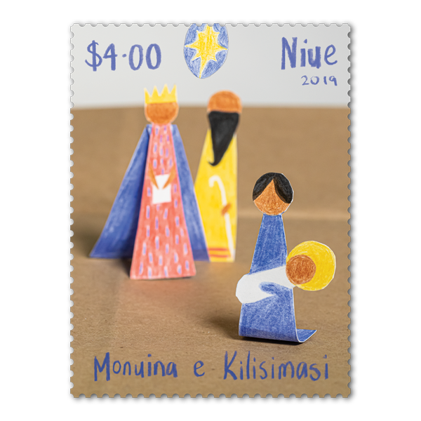 Niue Christmas 2019 single $4.00 gummed stamp | NZ Post Collectables