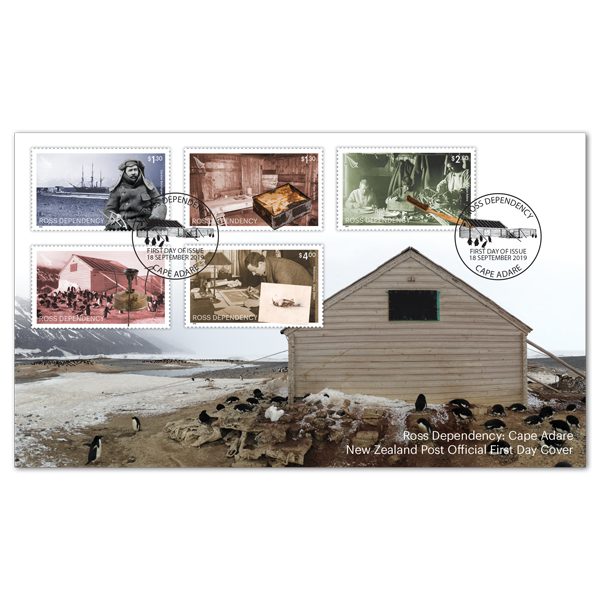 2019 Ross Dependency: Cape Adare first day cover | NZ Post Collectables