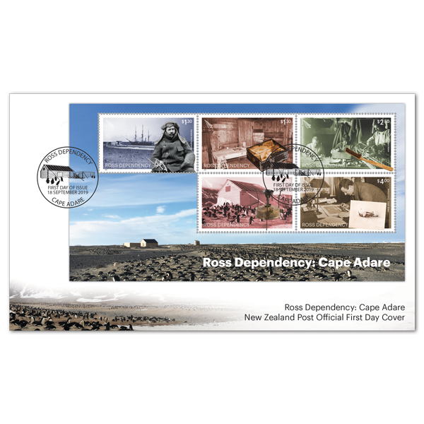 2019 Ross Dependency: Cape Adare | NZ Post Collectables