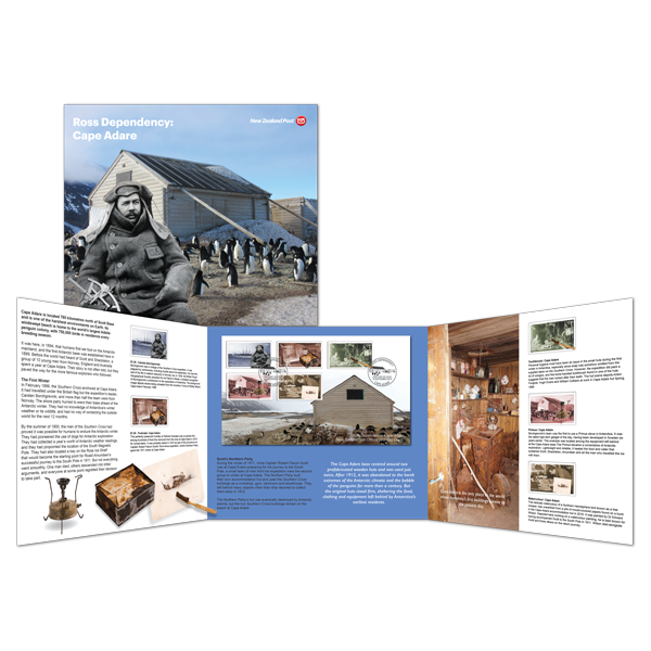 2019 Ross Dependency: Cape Adare presentation pack | NZ Post Collectables