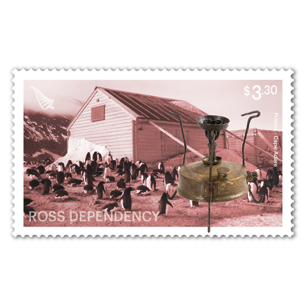 2019 Ross Dependency: Cape Adare single $3.30 gummed stamp | NZ Post Collectables