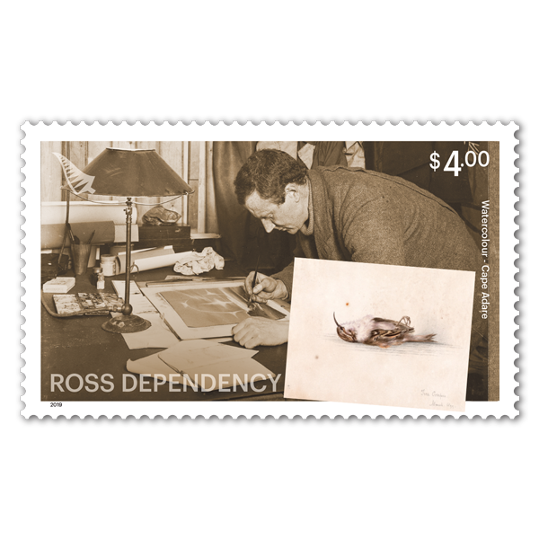 2019 Ross Dependency: Cape Adare single $4.00 gummed stamp | NZ Post Collectables