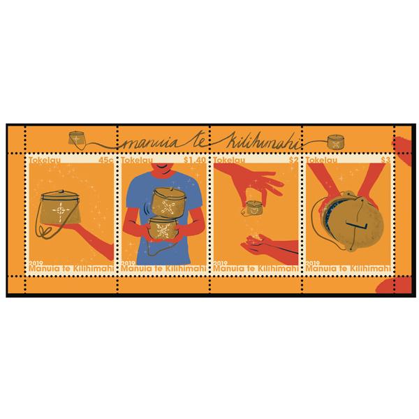 Tokelau Christmas 2019 gummed miniature sheet   NZ Post Collectables