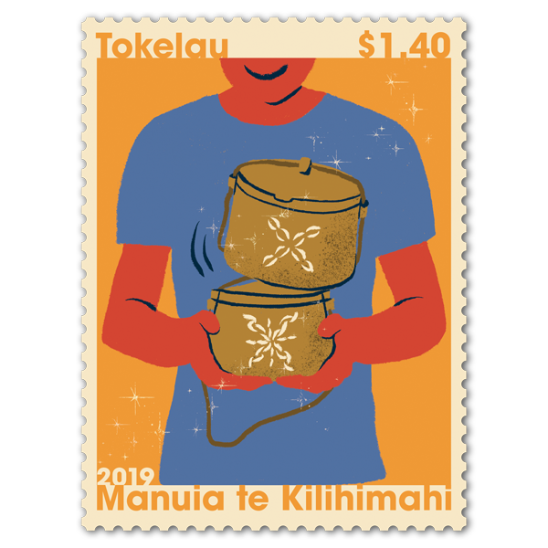 Tokelau Christmas 2019 single $1.40 gummed stamp   NZ Post Collectables