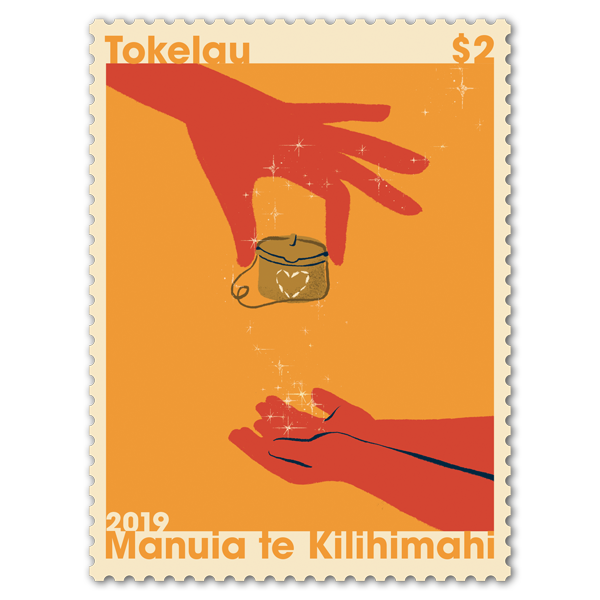Tokelau Christmas 2019 single $2.00 gummed stamp   NZ post Collectables