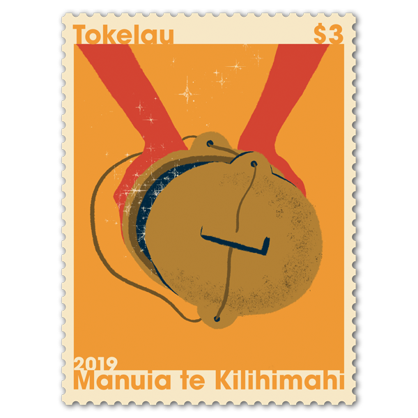 Tokelau Christmas 2019 single $3.00 gummed stamp   NZ Post Collectables
