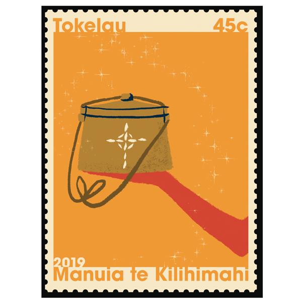 Tokelau Christmas 2019 single 45c gummed stamp   NZ Post Collectables