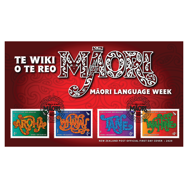 Te Wiki o te Reo Māori first day cover   NZ Post Collectables