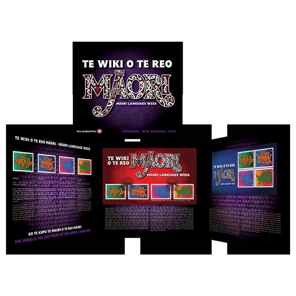 Te Wiki o te Reo Māori presentation pack   NZ Post Collectables
