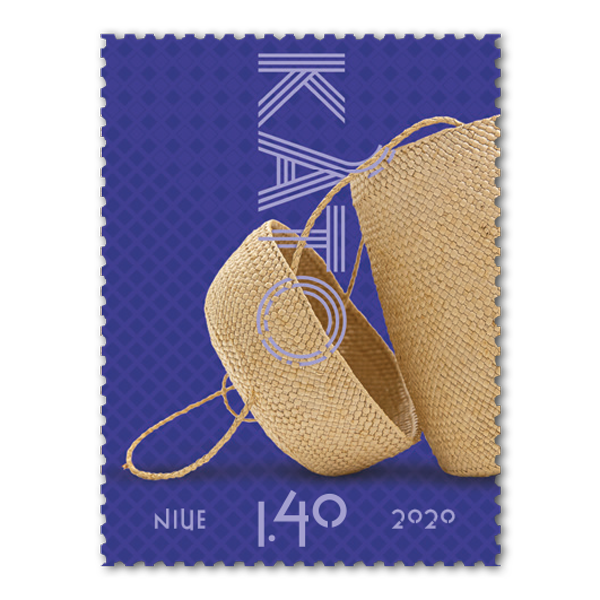 Niue Weaving 2020 single $1.40 gummed stamp | NZ Post Collectables