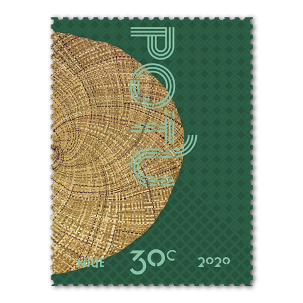 Niue Weaving 2020 single 30c gummed stamp | NZ Post Collectables