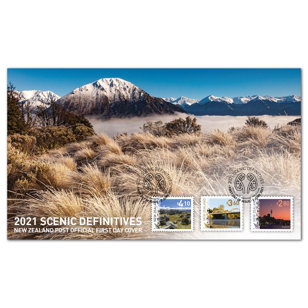 2021 Scenic Definitives first day cover | NZ Post Collectables