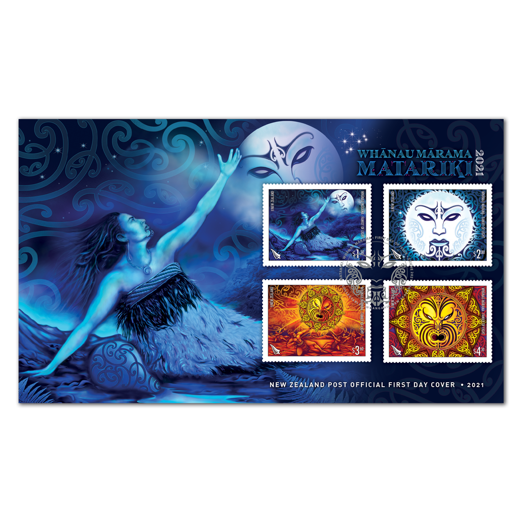 Whānau Mārama - Family of Light first day cover | NZ Post Collectables